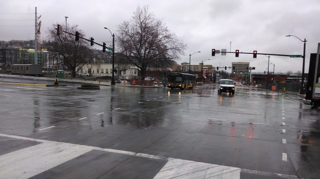 Route 40 at 9th & Mercer
