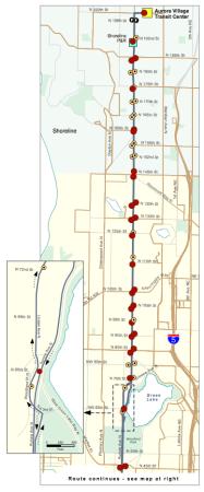 E Line Map