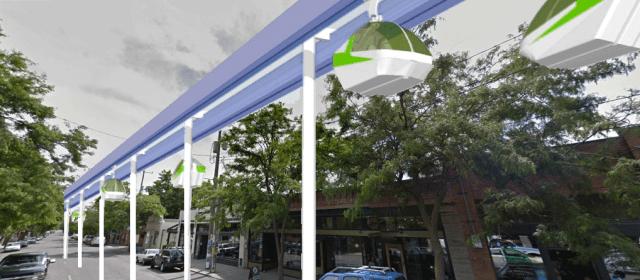 PRT on Ballard Ave (artist's rendering)