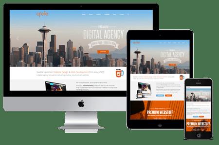 Seattle Web Design's Responsive Site Wins Hermes Creative