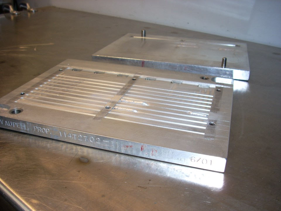Aluminium metal blocks for aerospace industry