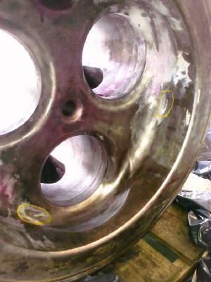 Cast Iron fitting all shiny