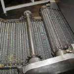 rolling mesh of metal for food industry