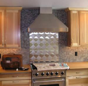 Range Hood custom designed for kitchen