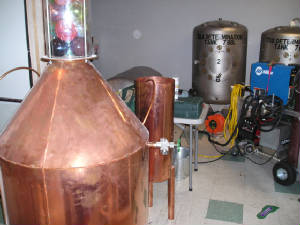 Storage Tanks made from copper