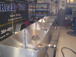 Custom Metal Storage Tanks