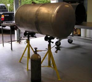 Custom Metal Storage Tank Design