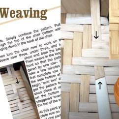 How To Cane A Chair Design Textile Seatweaving Supplies