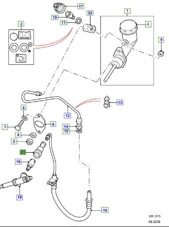 LAND ROVER GENUINE DAMPER ASSEMBLY- Defender (A2) 2007