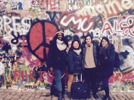 Charnise john Lennon Wall
