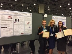 Biochem Students 300x225 - American Chemical Society Honors Seniors with Awards