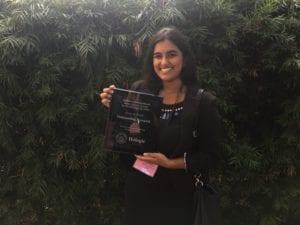 IMG 6827 300x225 - LMU Biology Senior Wins Regional Research Award