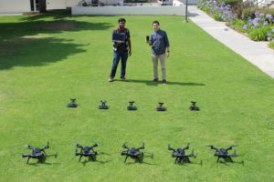 Dhruvil Drones Image 300x200 - Thesis Research Propels International Student's Career