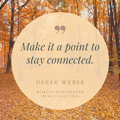 Derek - Alum Advice During COVID-19: Derek Weber '15