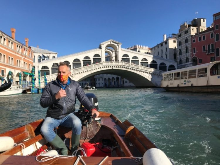 Jeremy in Venice e1615951013366 - Pal Studies Climate Change Adaptation Strategies in Europe
