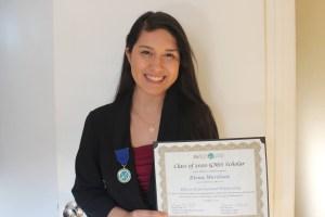 elena photo 11.JPG  300x200 - Mathematics and Computer Science Double Major Awarded Goldwater Scholarship