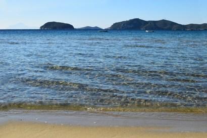 Γραφική αμμώδεις παραλία Γλάστρες, Παληό Καβάλας