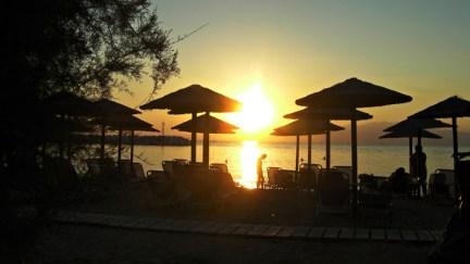 Sunset, Thassos