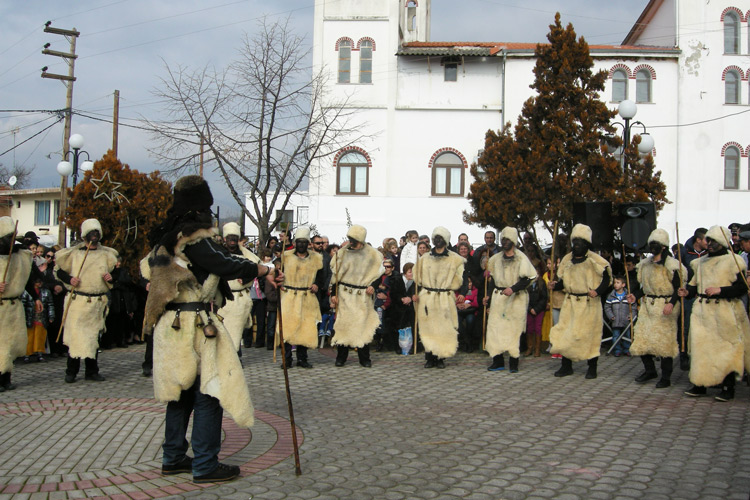 Momogeri Dramas - Folk custom in Greece