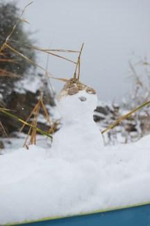 Χιονάνθρωπος στην παραλία, Παληό Καβάλας