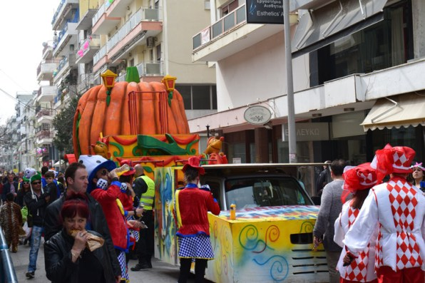 Carnival in Xanthi - the largest carnival in Northern Greece.