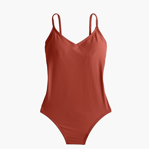 J crew Cinnamon bathing suit