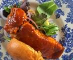 BBQ Farm-Fresh Salmon, one-pan and two-steps.