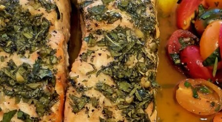 YouTube's No Hippie BBQ Salmon Recipe