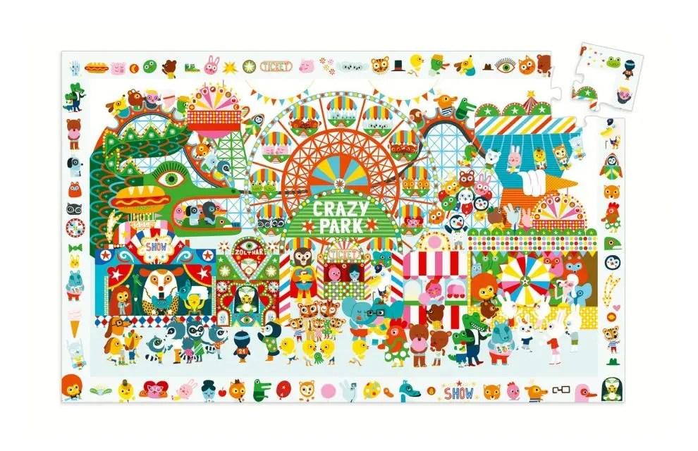 Puzzle Djeco Crazy Park