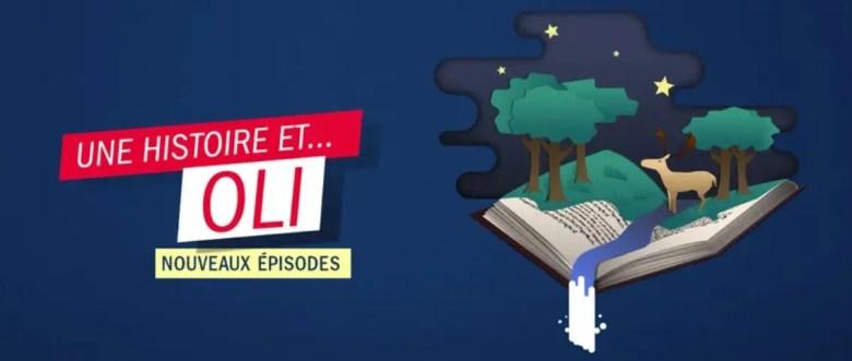 Podcast pour enfants de France Inter: Une histoire et Oli
