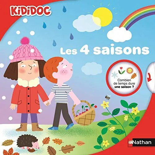 Livre pour enfants Les 4 saisons de Kididoc