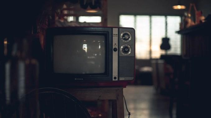 - black crt tv