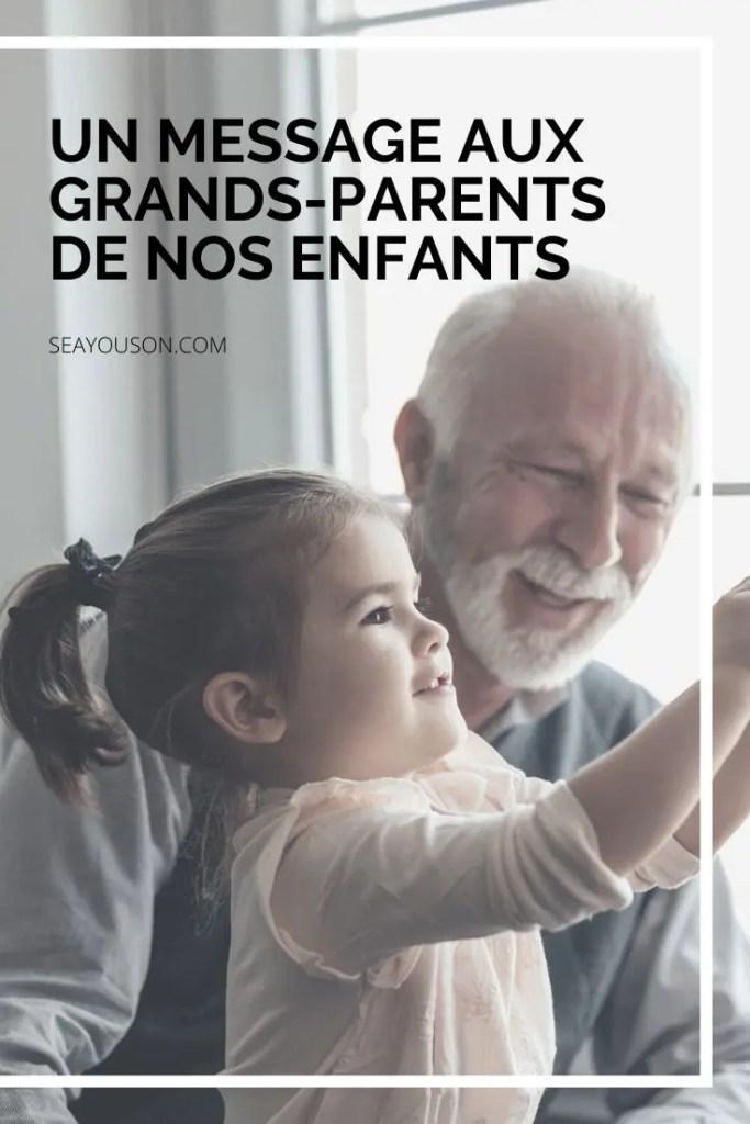 grands-parents confinement pinterest