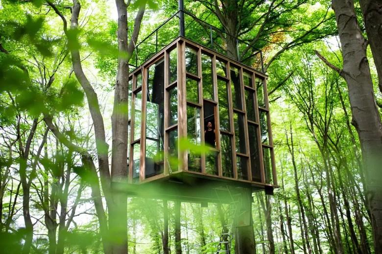 slo cabane dans les bois belgique