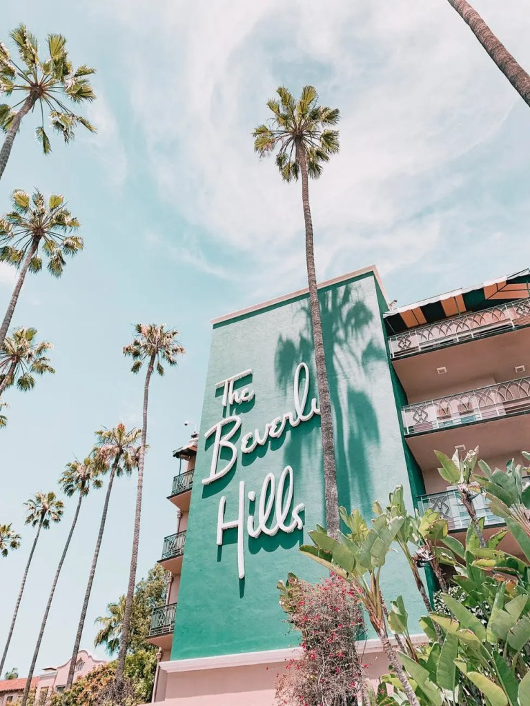 hotel beverly hills voyage californie