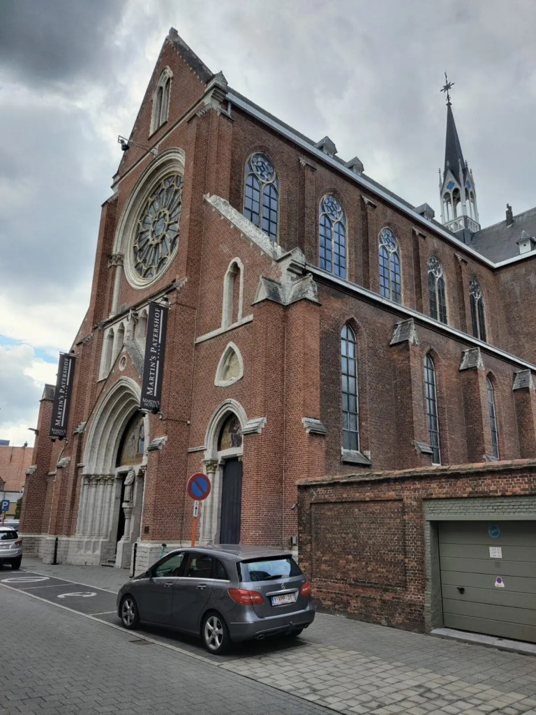 malines en famille hôtel église Martin's Patershof
