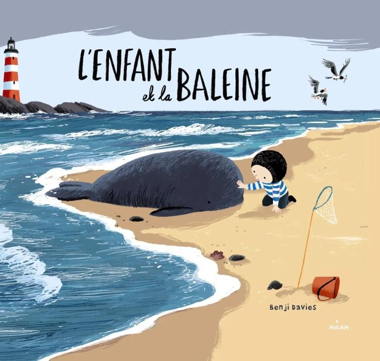 l'enfant et la baleine livre pour enfant à lire en automne