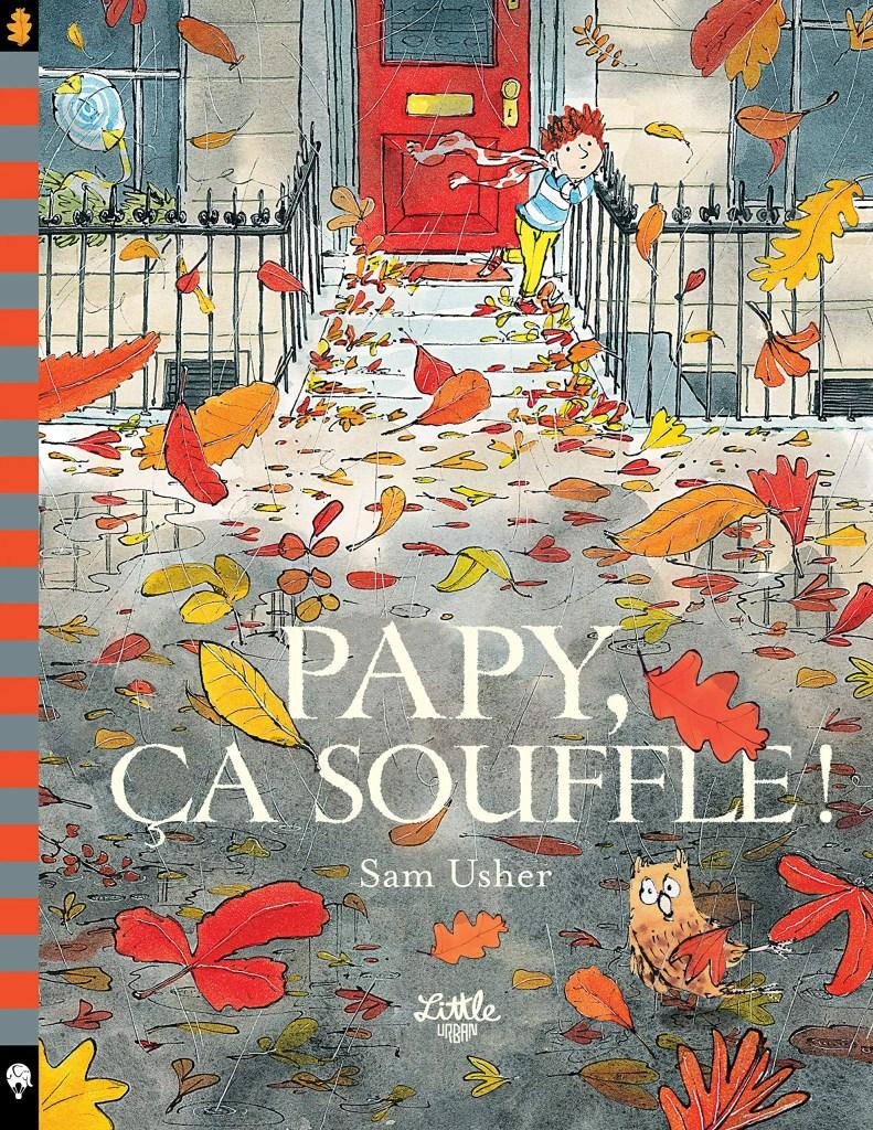 littérature jeunesse livres enfants automne papy ça souffle