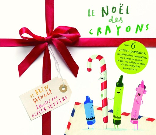 noël des crayons livre enfant