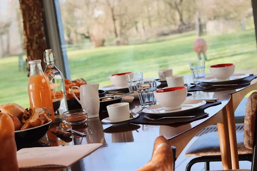 Indrani Lodge petit-déjeuner