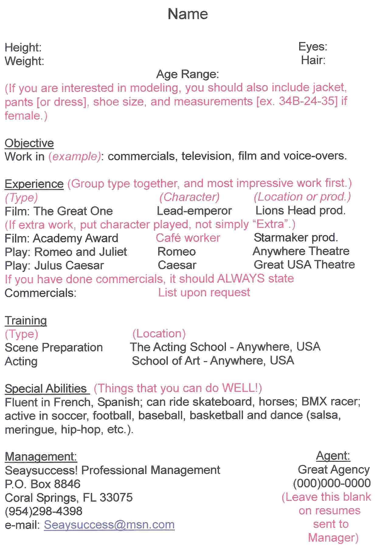 Resume For Hairstylist Hair Stylist Resume Examples
