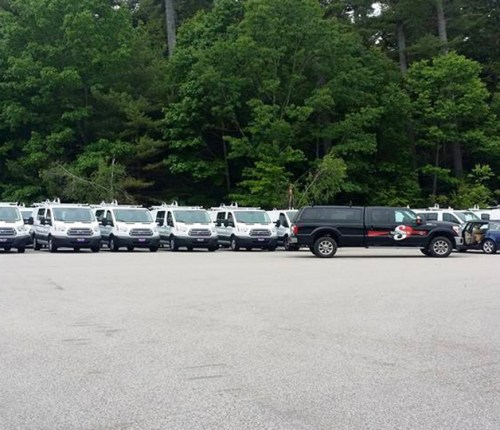 Sebago Signworks fleet wrapping
