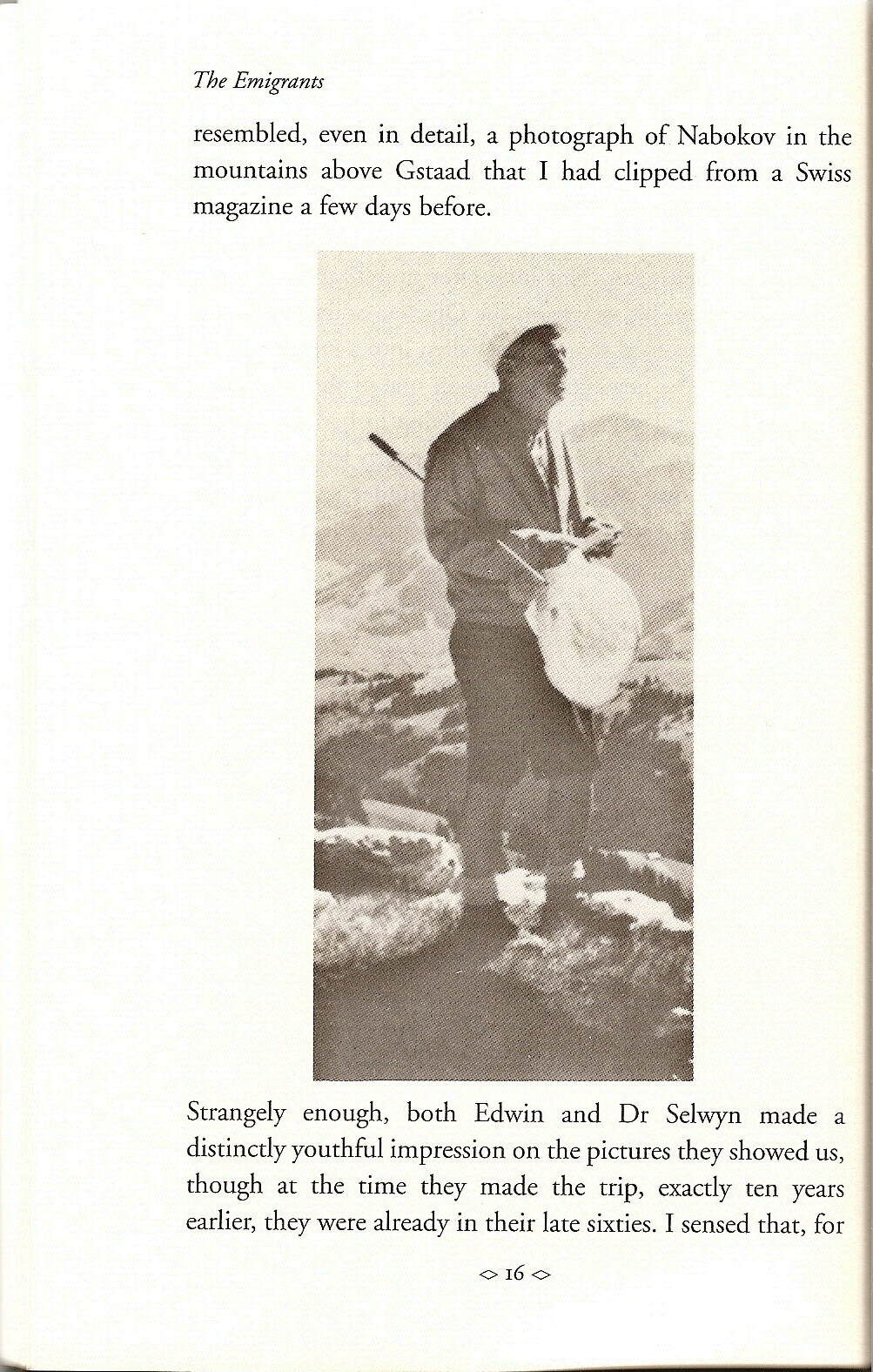 Nabokov with Butterfly Net