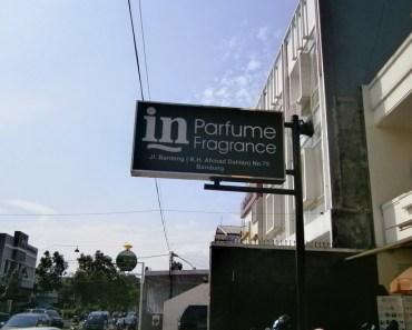 In Parfum Bandung, Toko Parfum yang Jadi Buruan Wisatawan
