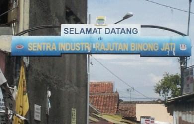 Industri Rajut Binong Jati