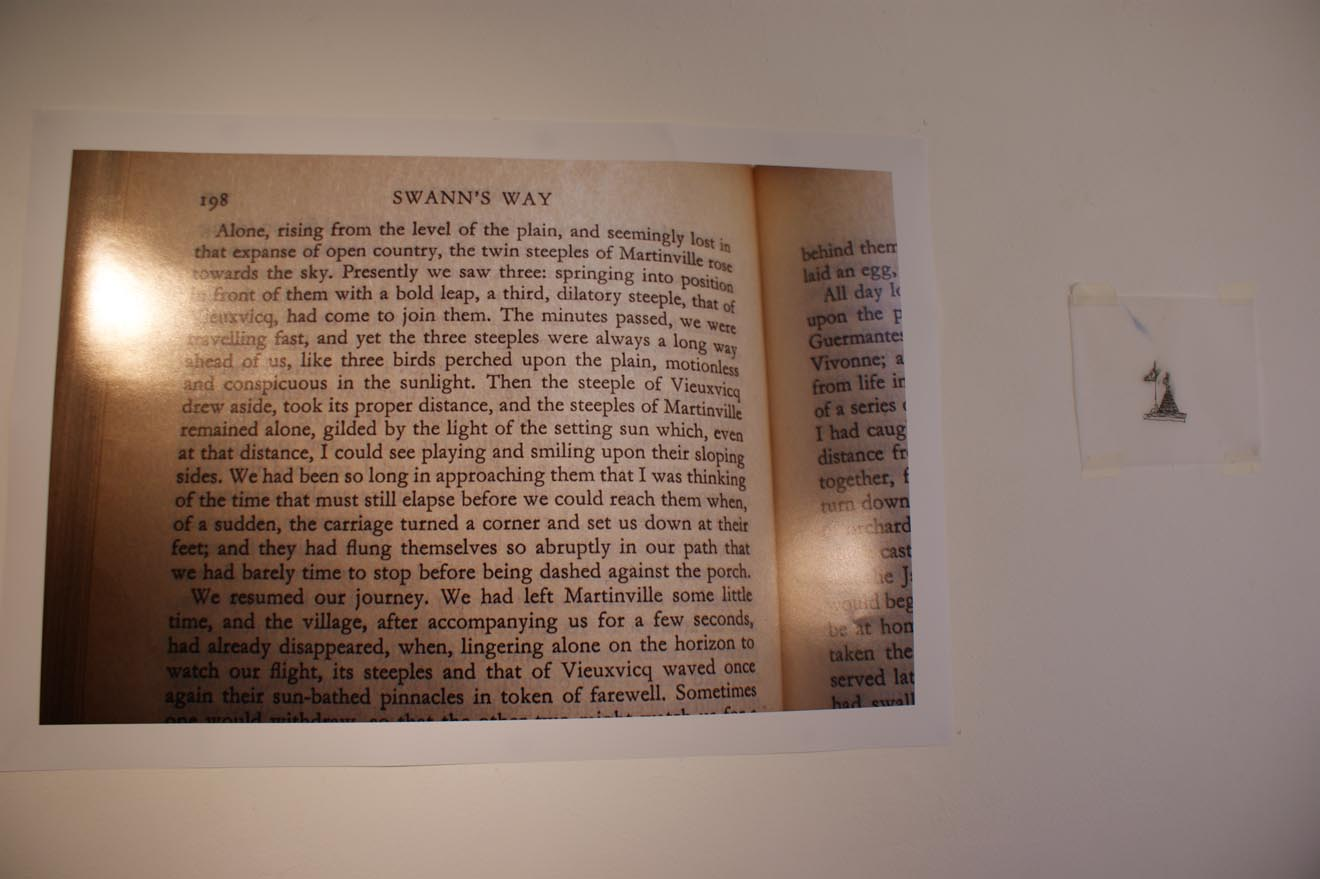 image of a page from In Search of Lost Time or Remembrance of Things Past