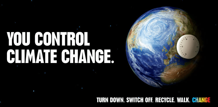 You Control Climate Change