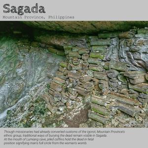 Sugong Coffins of Sagada