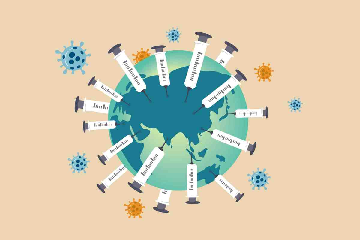 covid vaccinating the world including people with prior infection