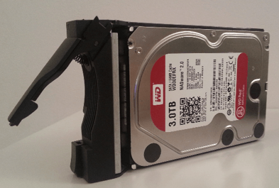 NAS Asustor AS5002T HDD WD RED